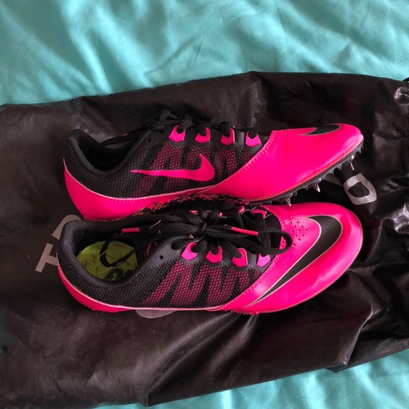 Nike Bright Pink Rival S7 TRACK SPIKES